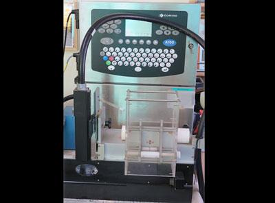 Straw printing machine